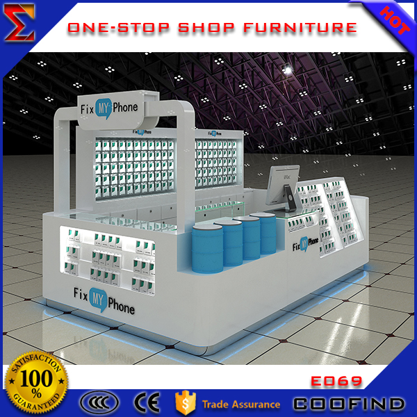 Factory directly sale used mall cell phone repair kiosk