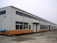 Quick installation Prefab Steel Structure Warehouse Shed Building