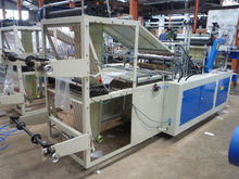high efficiency high quality plastic roll garbage bag making machine