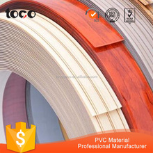 2mm pvc edge banding, plastic countertop edging for particle board