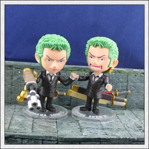 Collectible pvc Q style Roronoa Zoro models factory