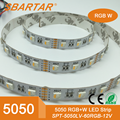 5050 RGBW 4 chips in one led 60leds/m 24v led lights strip China supplier factory price