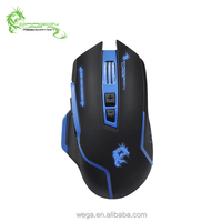 2017 New Model cheap good looking quality LED breath light Gaming mouse