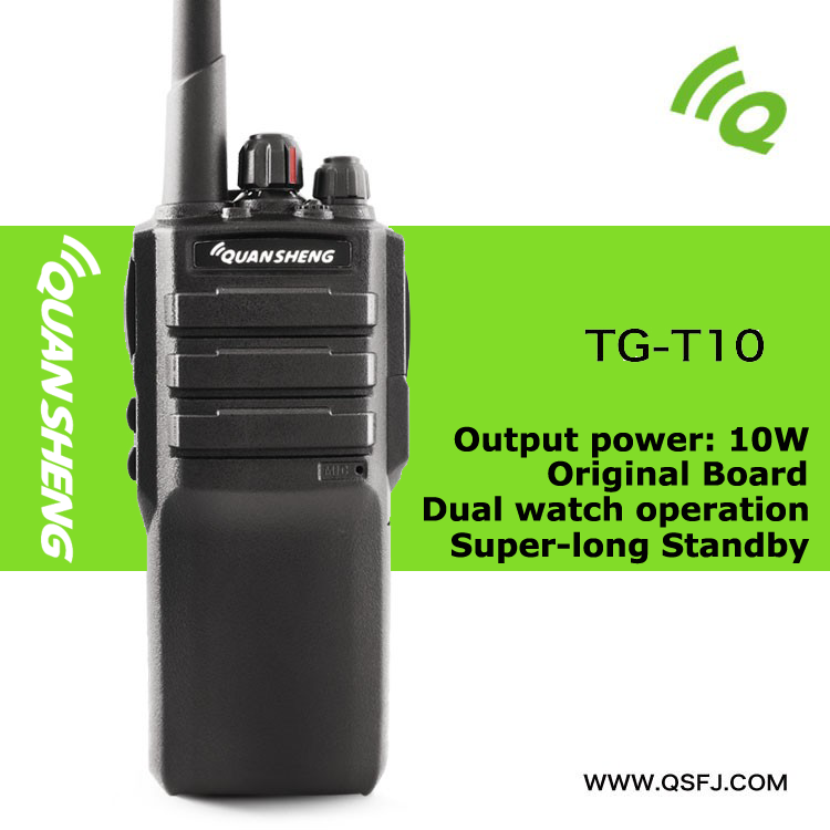 High Power two way radio 8 watt long range communications