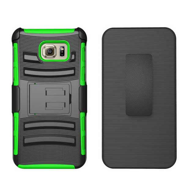Heavy Duty Hybrid Armor Dual Layer Rhino Kickstand Belt Clip Holster Combo Rugged Case for Samsung Galaxy Note 5