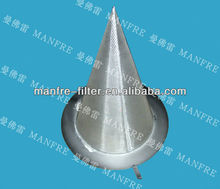 stainless steel conical filter strainer by directly factory