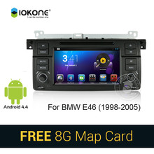 iokone Android 3G WIFI car multimedia radio player with gps navigation for BMW E46 (1998-2005)