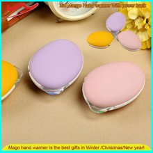 New Mango hand warmer / Fashion USB Rechargeable 3-in-1 hand warmer ,Wholesale mini portable heater