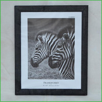 Cheap Black Stained Single Solid Wood Photo Frames
