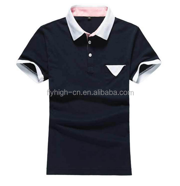 high quality factory stock pique oem dry fit polo shirt with pocket for boys