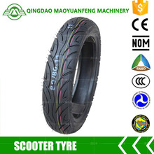 china cheap scooter motorcycle tyre 80 / 80 - 11 without tube for electric bike