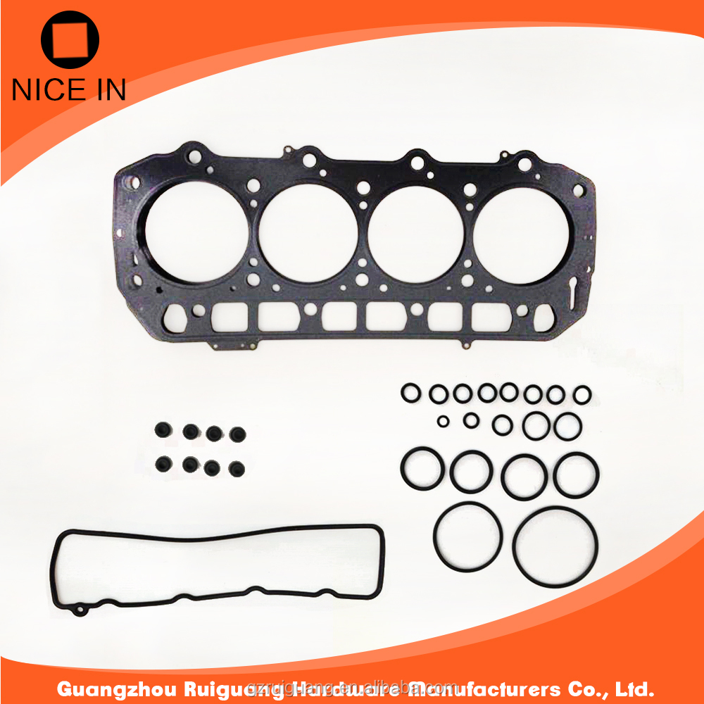 High Quality Upper Engine cylinder head gasket kit for toyota 2kd