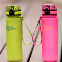 500ml wholesales directly factory recycled water bottle with different style