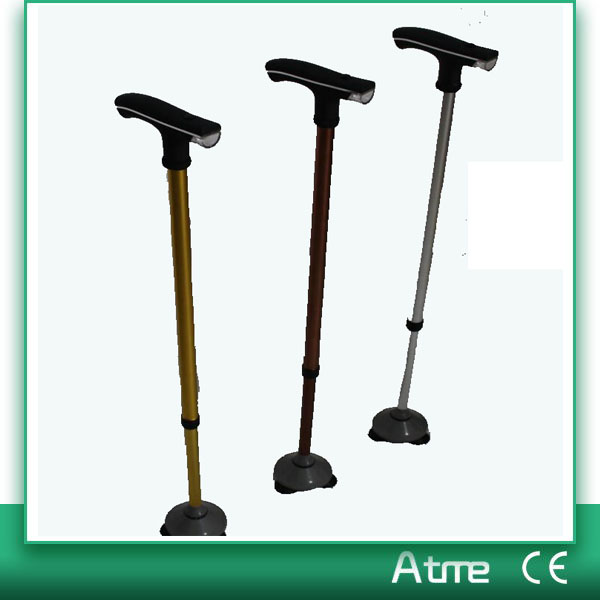 Top Quality Aluminum Adjustable Walking Cane With Led Light