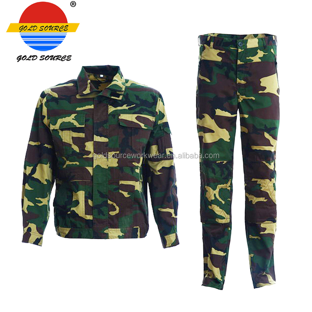Classic High Duration Enhanced Knees Pants Camouflage Military Uniforms
