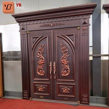 Modern 48 inches exterior steel doors made in china