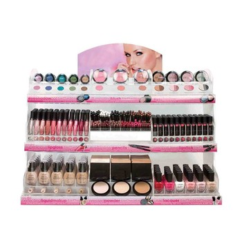 acrylic makeup mac cosmetic display stand