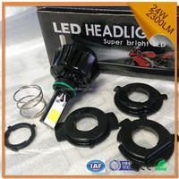 motorcycle parts COB chips led headlight super bright