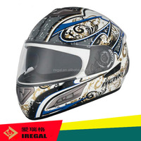 The custom wholesale special design motorbike helmet FF826