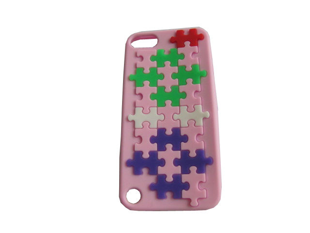 keyboard Shape silicone case manufacture for Phone 5