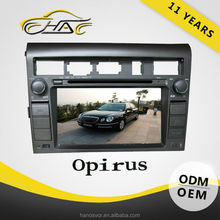 gps navigation wince 6.0 core version dvd player with usb and memory card for opirus dvd player
