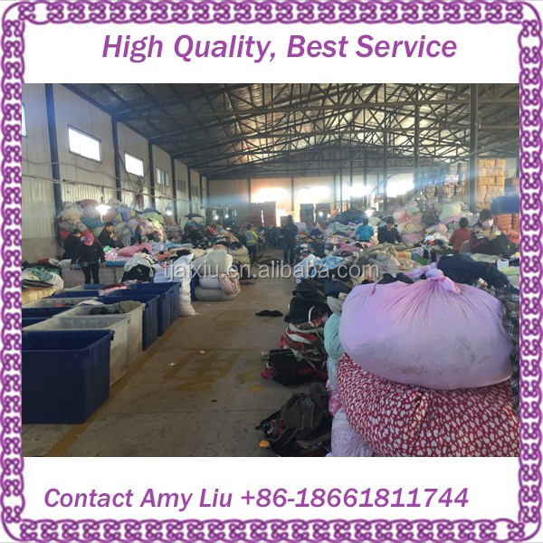 Cream quality used clothing second hand clothes
