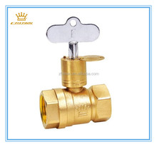 DN15 PN16 MS 58 Brass Lockable Ball Valve With Key