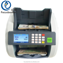 Currency Counter Counting Machine UV MG IR CIS Bill Value Banknote Counter