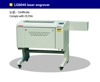 LG6040N GWEIKE high qaulity leather laser engraving machine