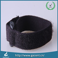 Nylon material flexible elastic hand belt with plastic buckle