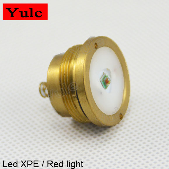 Entertain C8 XPE2 Red Led Module, Led Drop-in <strong>1</strong> Mode 3W Led Flashlight Torch Lamp Module