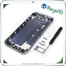 high quality smartphone spare parts battery cover replacement parts for iphone 5 back housing