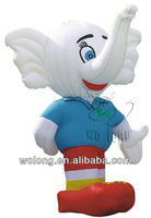 custom advertising inflatable figures, inflatable animal cartoon