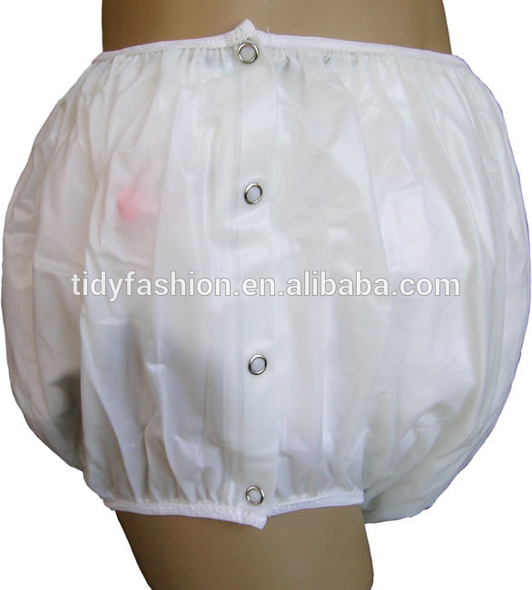 Waterproof Clear Adult Plastic Pants