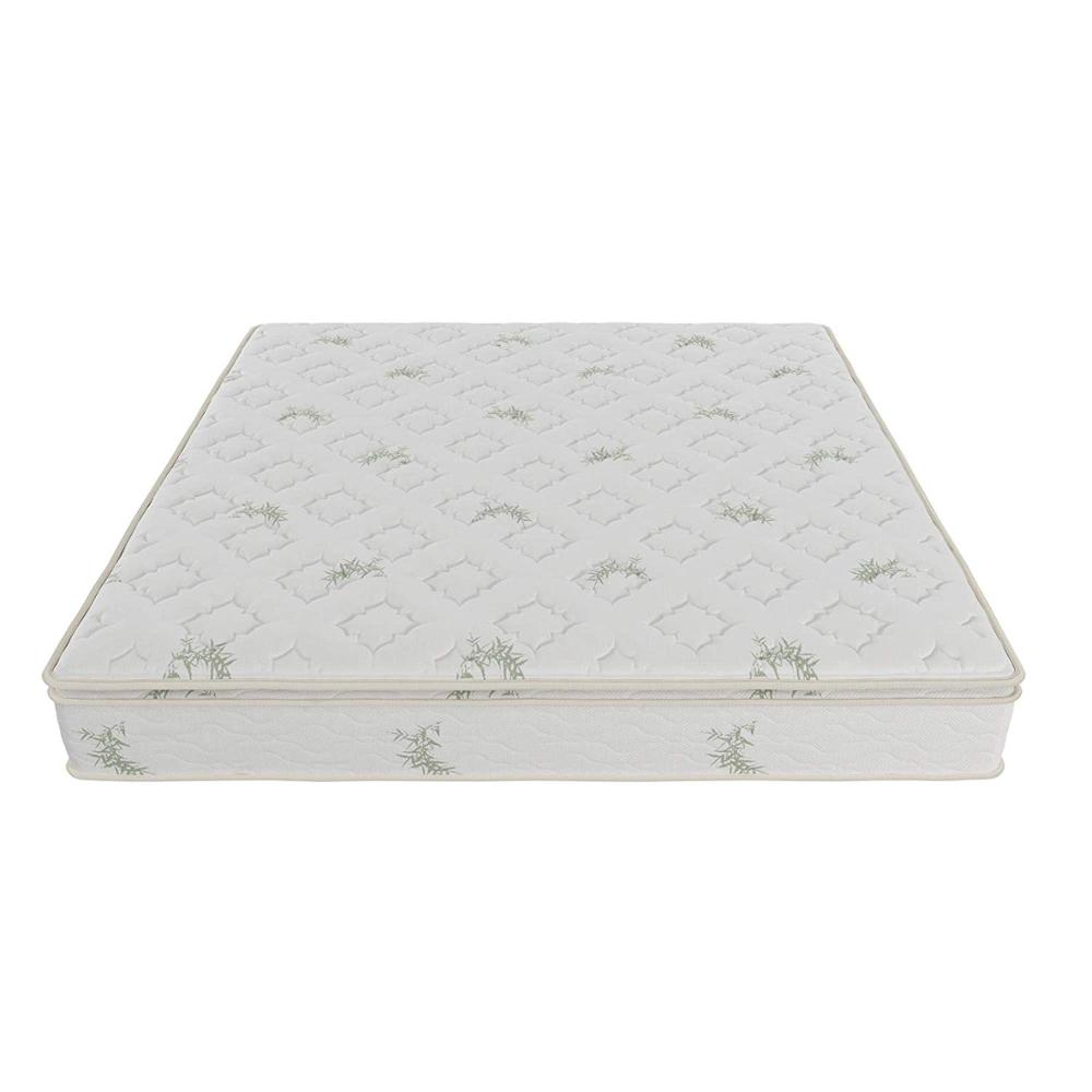 Fast delivery time Bamboo fabric pillow top gel infused memory foam pocket spring hybrid mattress - Jozy Mattress | Jozy.net