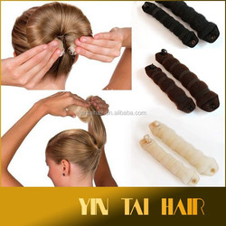 Retro disc Hair Accessories DIY Hairstyle Fishbone Hair Styling Accessory Magic Maker Bun Donut tool Hairdisk