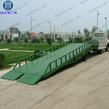 10ton Factory direct hydraulic horse trailer ramp hydraulic car ramps for sale