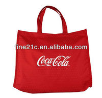 Cola shopping bag promotion bag Eco-friendly reusable bag