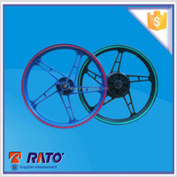 "Top quality motorcycle spoke wheels 1.4x17"" complete with hub and spokes"