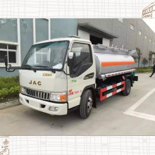 JAC small 4cbm,5cbm fuel tanker truck/oil tank truck for sale cheap price