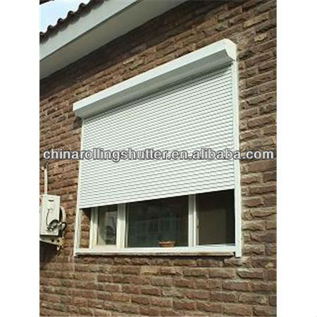 automatic rolling shutter window/electric door shutters/residential window louvers