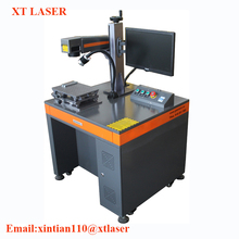 SINO-GALVO fiber Laser marking machine with Ezcad software for metal label