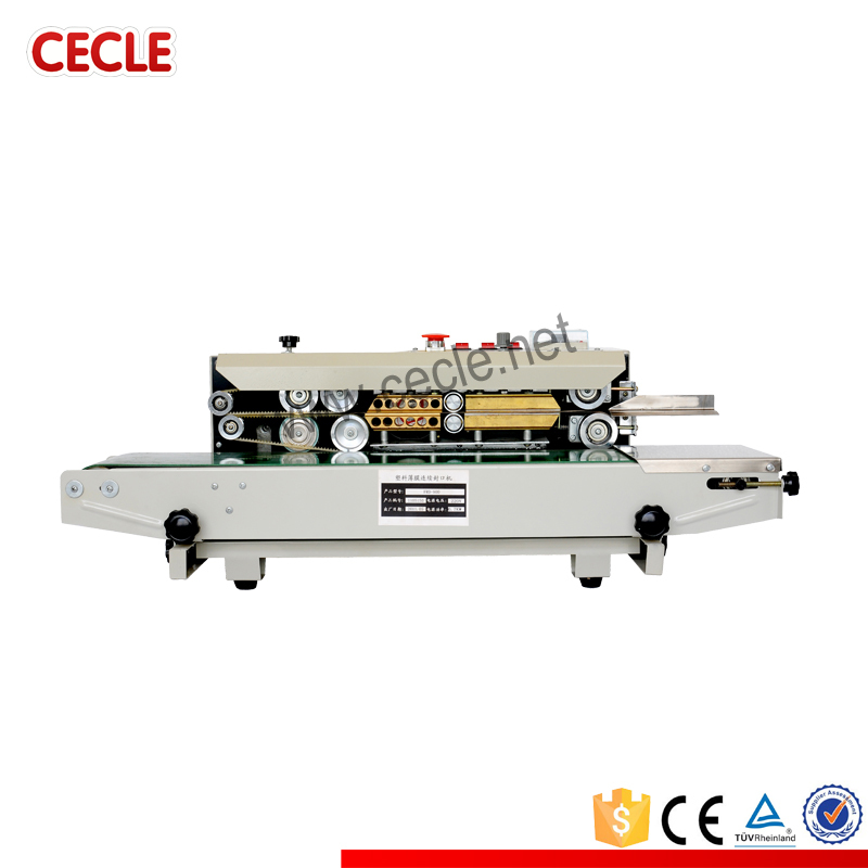 Continuous automatic tarpaulin sealing machine