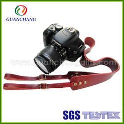 Wholesale high quality camera strap leather