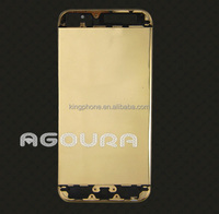 For iphone 5s luxury 24kt gold housing Factory price&High quality accept custom luxury 24kt gold housing,housing