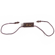 Factory Custom Plastic String Hang Tag for Trousers
