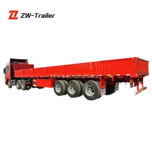 High Strength Steel 3 Axles Side Wall Truck Semi-Trailer/Side Wall SemiTrailer