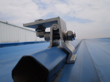 solar pv mounting system/solar panel mounting structure/standing seam roof mounting bracket