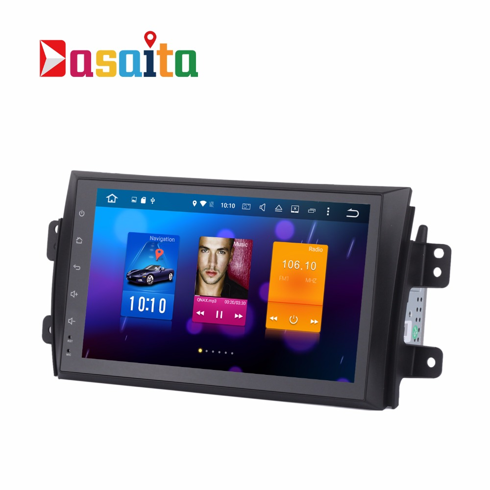 "Dasaita 9"" Android 6.0 Car for Suzuki swift 2005-10 with Car GPS Touch screen Stereo 2GB RAM autoradio multimedia DVD player"