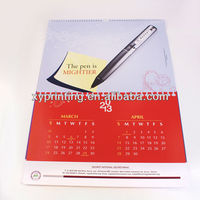 Wholesale 2014 Free creative 2013 best table calendar design